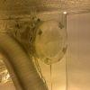 Самодельный фильтр,наполнил кошачьим наполнителем для туалетов,просеивал через сито)
